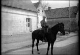Lieutenant Prévot Lemasson à cheval